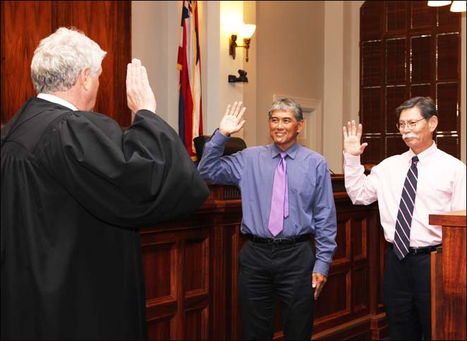 Del Rosario and Perkins Reappointed as First Circuit Court Judges