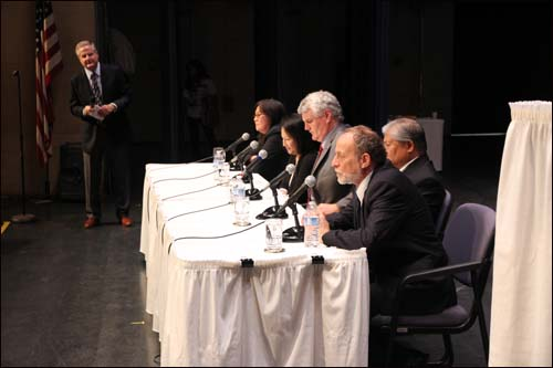 Hawaii Supreme Court Justices Convene at Baldwin High School on Maui.