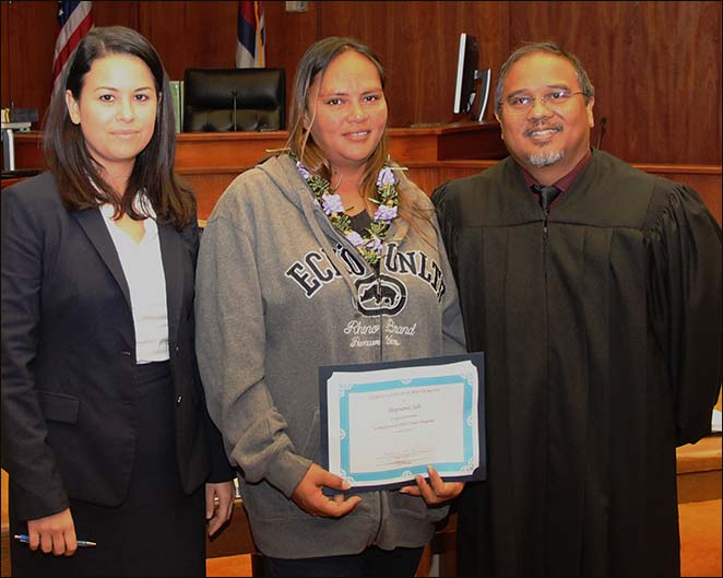 DWI Court Graduation Oct. 2015