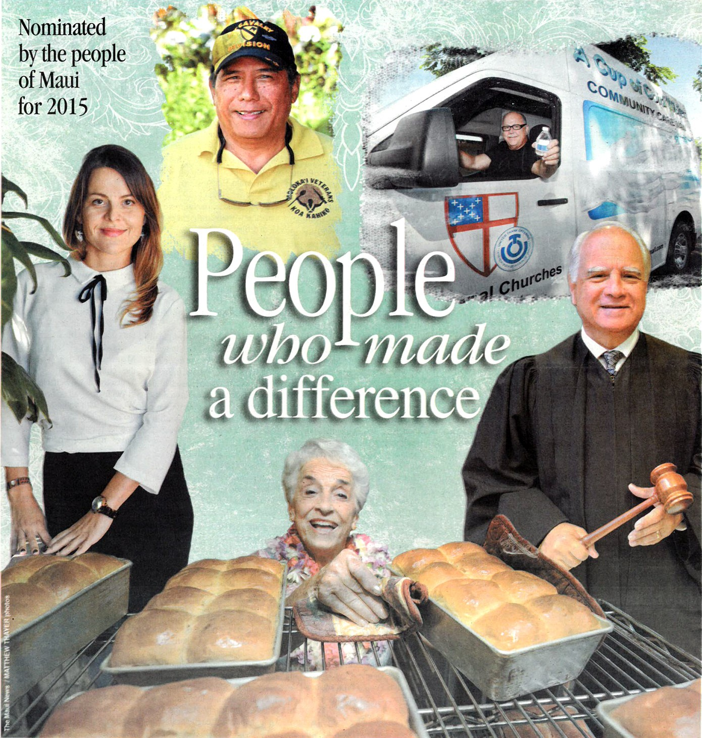 Maui News People Who Made a Difference Awards graphic