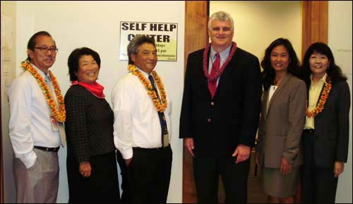 Opening ceremony for self-help center in Hilo