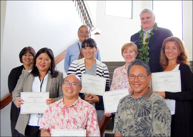 Chief Justice Recognizes Volunteer Attorneys on Kauai