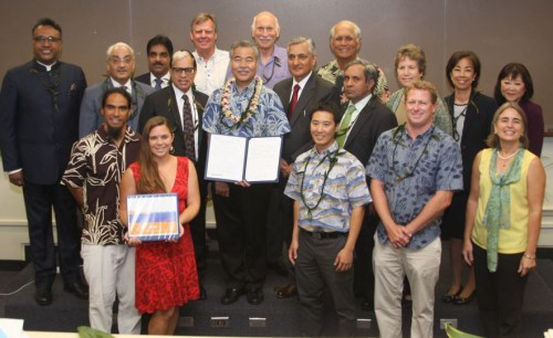Governor Ige signs environmental law