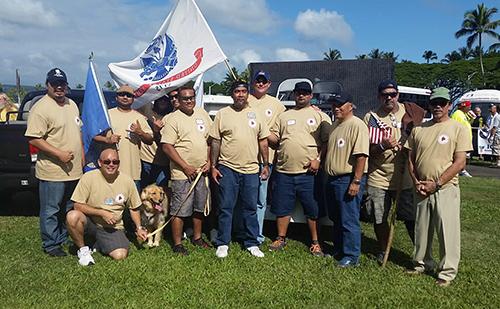 Hilo Veterans Day Parade Participants