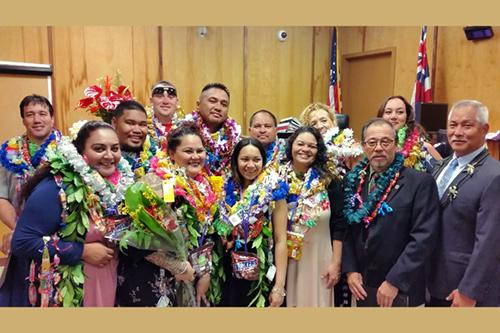 Kona Drug Court Celebrates its new graduates and National Drug Court Month