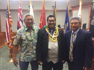 Photograph of Big Island Veterans Treatment Court Graduate