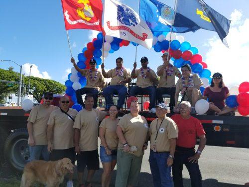 Judiciary staff participates in Hilo Veterans Day Parade