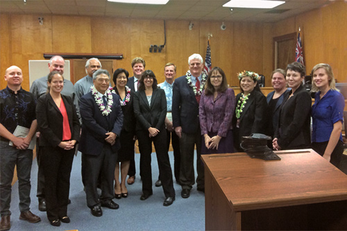 36 Attorneys recognized for providing free legal assistance to West Hawaii Residents