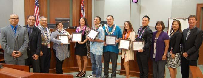 Photograph of Kauai Drug Court Graduates