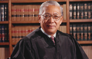 Photograph of the late Judge Harry Tanaka
