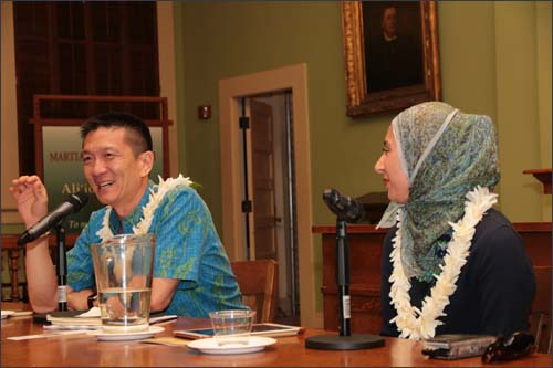 Special guest speakers for Civil Liberties and the Constitution Day 2018, were former Hawaii Attorney General Douglas Chin and National Public Radio reporter Asma Khalid.