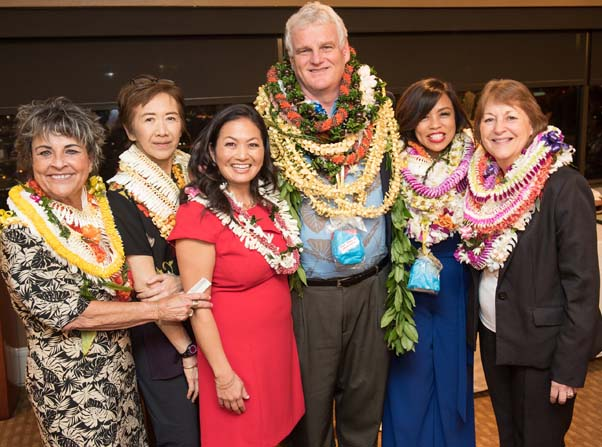 Chief Justist Mark E. Recktenwald at Hawaii Womens Lawyers Event