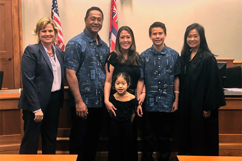 Court officials and partners celebrate National Adoption Day