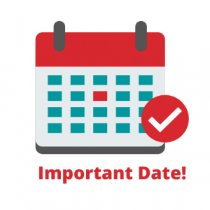 """Graphic of Calendar """"important Date!"""""""