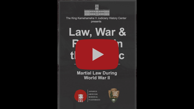 Law, War, and Racism in the Pacific - video red play button image.