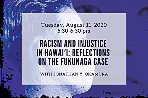 """Image of the cover of the book, """"Raced to Death in 1920s Hawai i: Injustice and Revenge in the Fukunaga Case."""""""