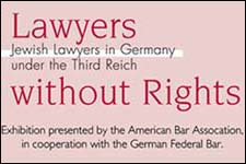 Graphic for Lawyers Without Rights exhibit