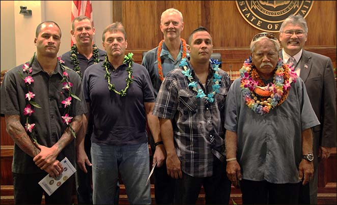 Veterans Treatment Court Graduates Five Clients, October 2015