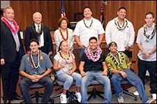 Group photo from Maui/Molokai Drug Court Graduation