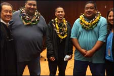 DWI Court Graduation Feb. 2015 Oahu