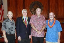 Photo from Hawaii Justice Foundation Annual Meeting