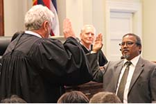 William Domingo Sworn In as First Circuit District Court Judge