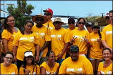 Big Island Drug Court Volunteers at the Ironman World Championship