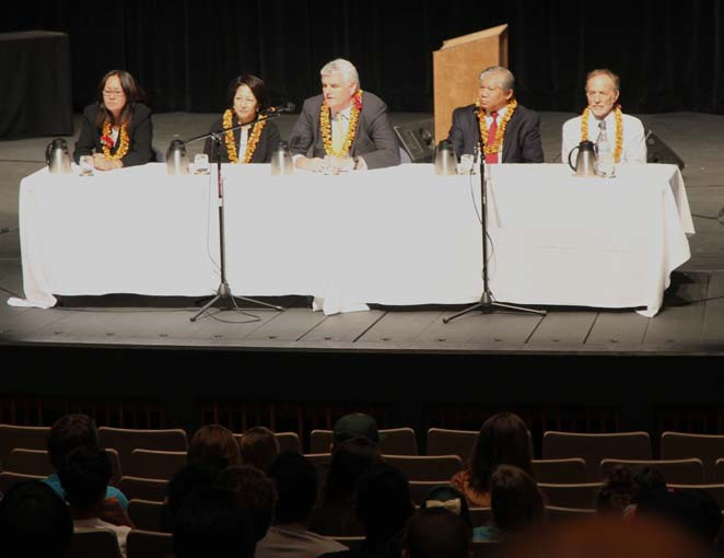 Hawaii Supreme Court answer questions from students