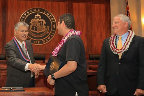 Judiciary Oahu Veterans Treatment Court Celebrates 22