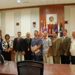Group Photograph of Individuals Involved in Veterans Treatment Court Program Launch on Kauai