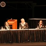 Photograph of the Hawaii Supreme Court at an Oral Argument at Castle High School
